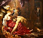 """""""Samson and Delilah"""", 1609-1610, Peter Paul Rubens, National Gallery, London, England, UK."