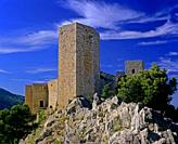 Castle of Santa Catalina (13th century), Jaen, Region of Andalusia, Spain, Europe.