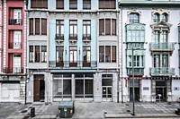 Streets of Aviles, Asturias.