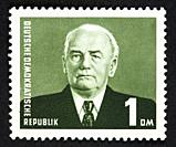 DDR postage stamp.