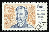 Cuban postage stamp.