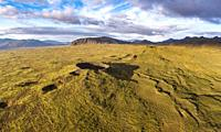 Thingvellir National Park, Iceland. This image is shot using a drone.