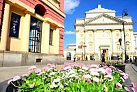 Church of Saint Anne, Warsaw, Poland.