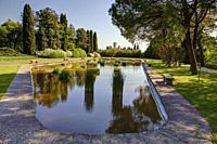Naturalistic park of Sigurta, Verona province, Italy.