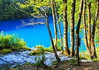 Plitvice Lakes National Park. Croatia, Europe.