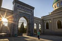 Main gate of Juma mosque, Tashkent, Uzbekistan.