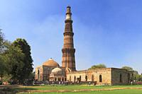 Qutb Minar, New Delhi, India.