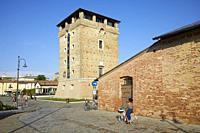 St. Michael Tower in Cervia, Italy.