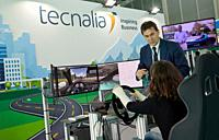 Dynacar simulator, new concepts and components development platform for electric propulsion vehicles, Tecnalia Research & Innovation,Feria Go Mobility...