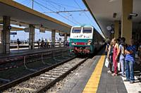 Centrale Railway Station, Catania, Sicily, Italy.