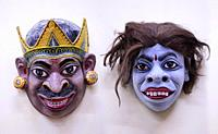 Masks The traditional craft from Assam. Mainly materials like bamboo and cane, cloth, clay and rock color etc are used for making masks.