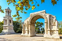 Glanum in summer, Provence.