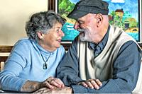 An elderly couple in Washington in the United States, finds love and laughter everyday in life and in the art.