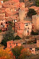 View of Albarracín. Teruel.