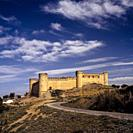 The Castle of Maqueda. (Toledo) Spain. . Maqueda is located in the comarca of Torrijos. The town is best known for its remarkably well-preserved castl...