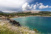 Bay of Baska, Island Krk, Croatia