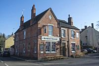 Robin Hood public house in the Leicestershire village of Swannington.