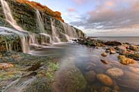 Osmington Mills, Jurassic Coast, Weymouth, Dorset, England, United Kingdom.
