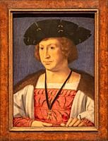 portrait of Floris van Egmond, painting by Jan Gossaert.