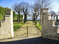 municipal park, Laparade, Lot-et-Garonne Department, Nouvelle Aquitaine, France.