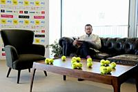 Joao Zilhao (Tournement Director), Millennium Estoril Open 2019, Press conference at Nova SBE University, in Carcavelos, Cascais, Portugal