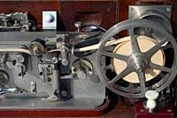 Italy, Lombardy, Flea Market, Old Telegraph, Ancient Technological Devices for Military . . . .