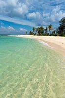 Crystal clear shore on Ko Lipe island, Thailand.