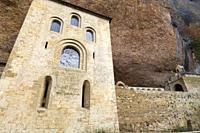San Juan de la Peña Monastery, Huesca Province, Aragon, Spain.