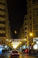 Sant Vicent street. València. Spain. 2019.