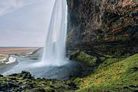 Seljalandsfoss, Sudurland, Iceland, Europe.