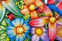 Carnival representation of spring.