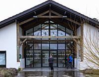 Information Center, Maison du Marais, Réserve naturelle nationale Marais d'Orx, Labenne, Landes, Nouvelle-Aquitaine, France, Europe.