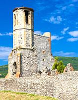 Kisnána Castle near Eger, Hungary.