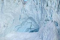 Details of Icebergs, Scoresbysund, Greenland.