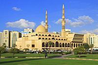King Faisal Mosque, Sharjah, UAE.