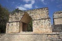 Entrance Arch, Ek Balam, Yucatec-Mayan Archaeological Site, Yucatan, Mexico