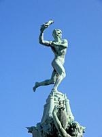 Brabo Fountain, Antwerp, Belgium.