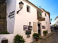 Casa típica. El Castell de Guadalest. Alicante. Valencian Community, Spain.