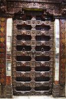 Old Wooden carved door.