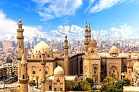 Mosque and Madrasa of Sultan Hasan in Cairo, Egypt.