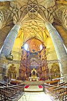 Collegiate de Santa María del Mercado, 16th Gothic-Renaissance Style, National Monument, Berlanga de Duero, Soria, Castilla y León, Spain, Europe.
