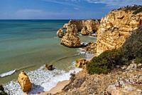 Algarve, Marinha beach, Portugal, Europe, Atlantic ocean, Seven Valleys trail.