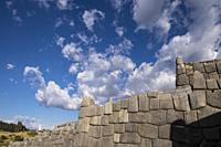 Peru, Cusco, Saqsaywaman archaeological complex.