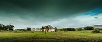 Collapsing farm workers cottages in rural southern Africa.