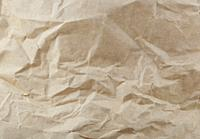 Close-Up Of Old Brown Paper Texture.