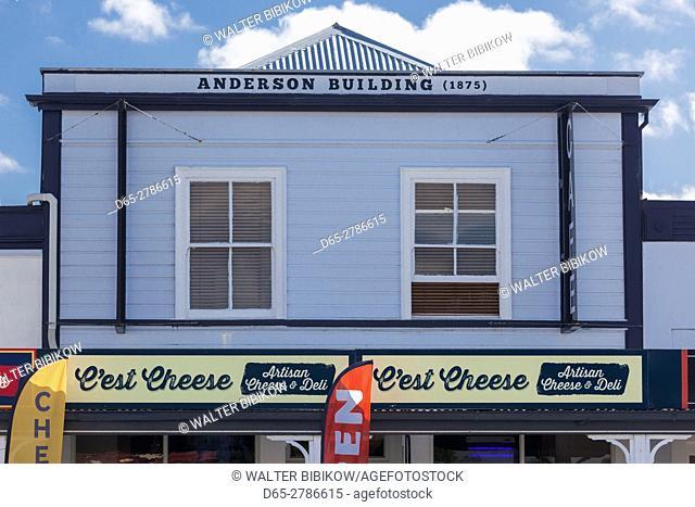 New Zealand, North Island, Featherston, C'est Cheese, cheeseshop