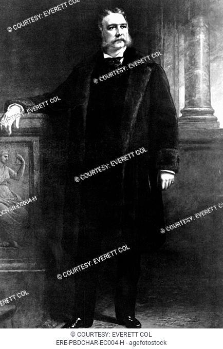 Chester Arthur, 21st President of the United States, 1881 - 1885