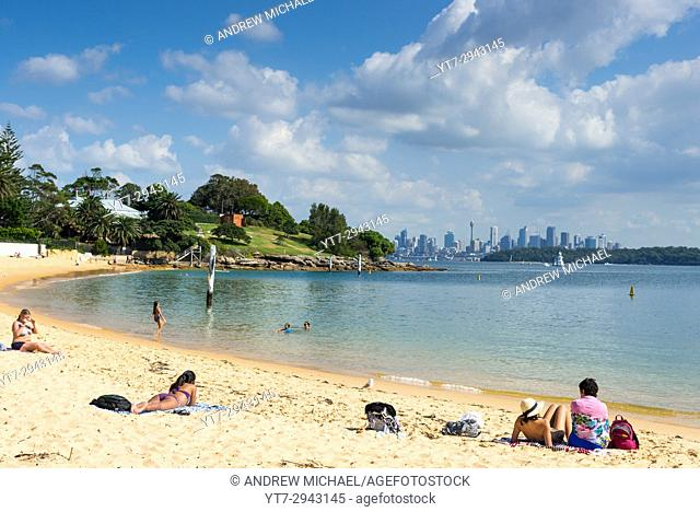 Camp Cove beach, Watsons Bay, Sydney, New South Wales, Australia