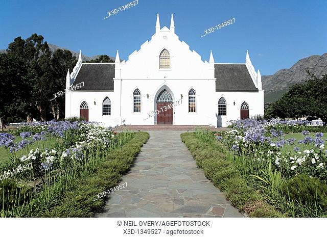 Church, Franschoek, Western Cape, South Africa