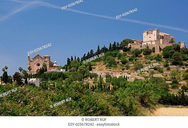 Panoramic view of Arta - Majorca
